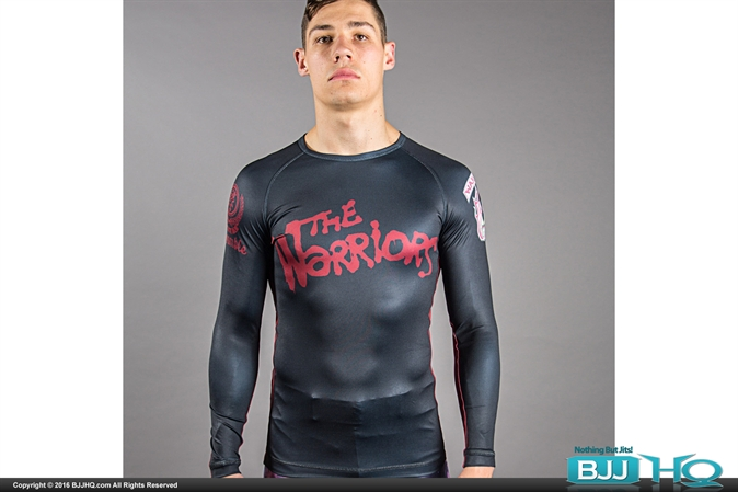 Scramble Warriors Official Rashguard